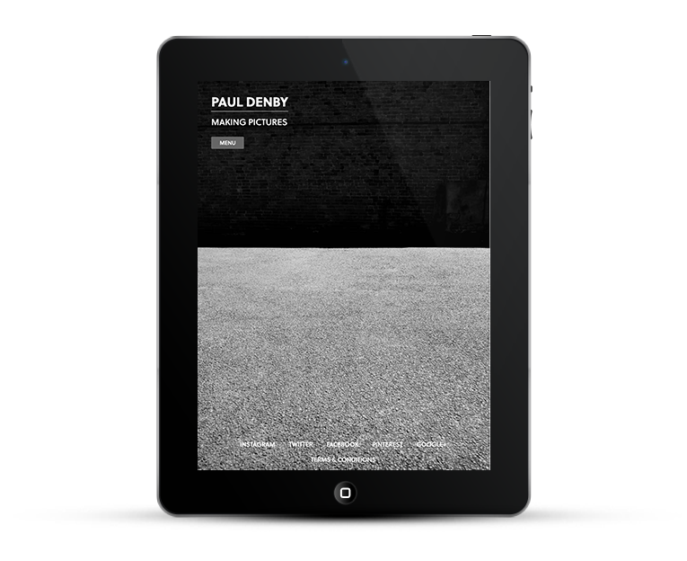 Responsive web design for iPad