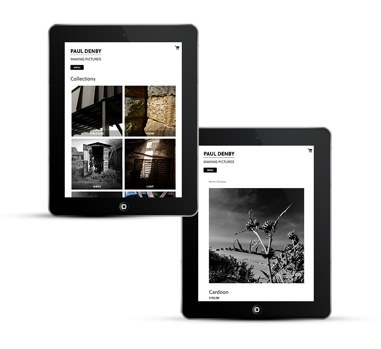 Freelance web design photography portfolio