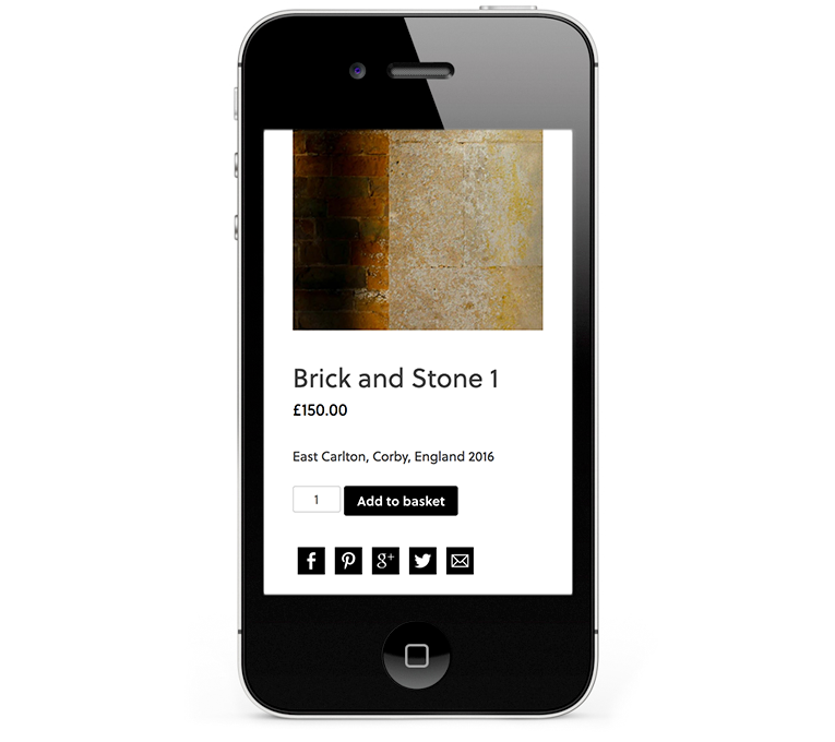 Beautiful clean responsive design for Smartphones