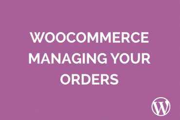 WooCommerce managing orders and refunds