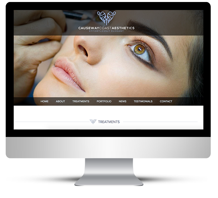 Web Design for Beauty Salon