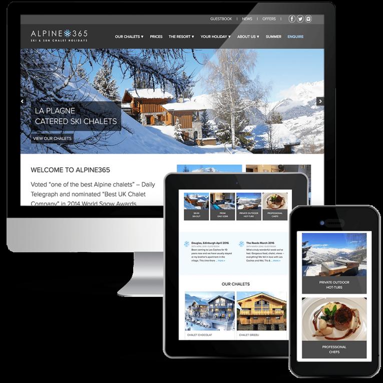 Alpine365 Holiday Rentals Ski Chalets