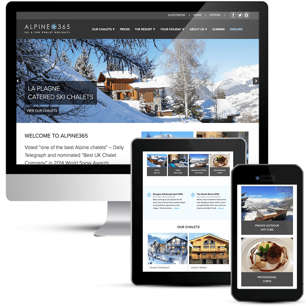 Alpine365 Holiday Rentals Ski Chalets