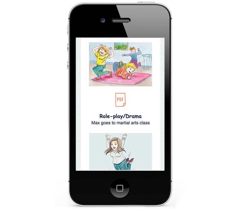 iPhone design for childrens author