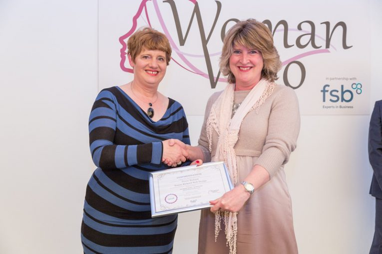 A Commendation at the Woman Who Awards