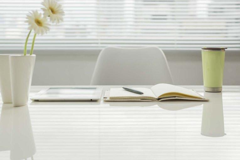 Freelance designer desk
