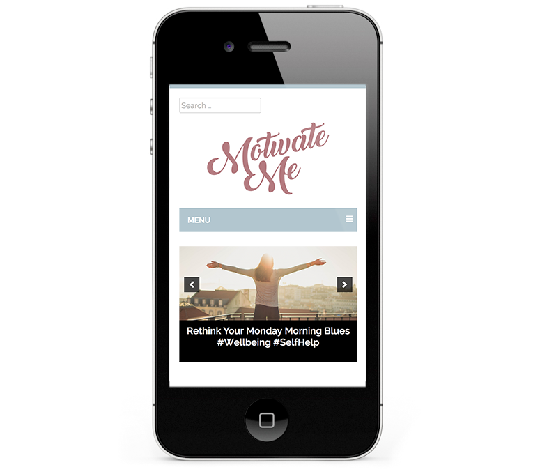 Beautiful web design on iPhones and smartphones