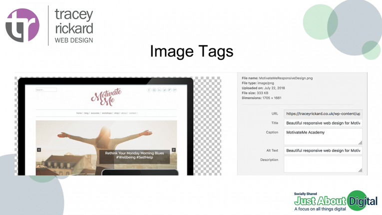 Use your image tags