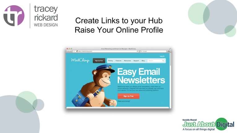 Promote via newsletters
