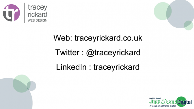 Tracey Rickard Web Design Contacts