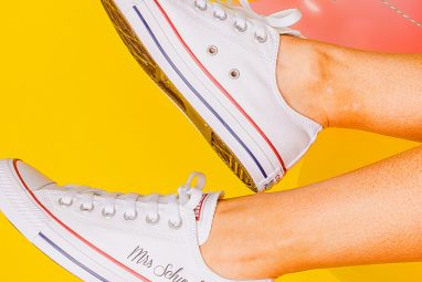 Personalised Converse Shoes