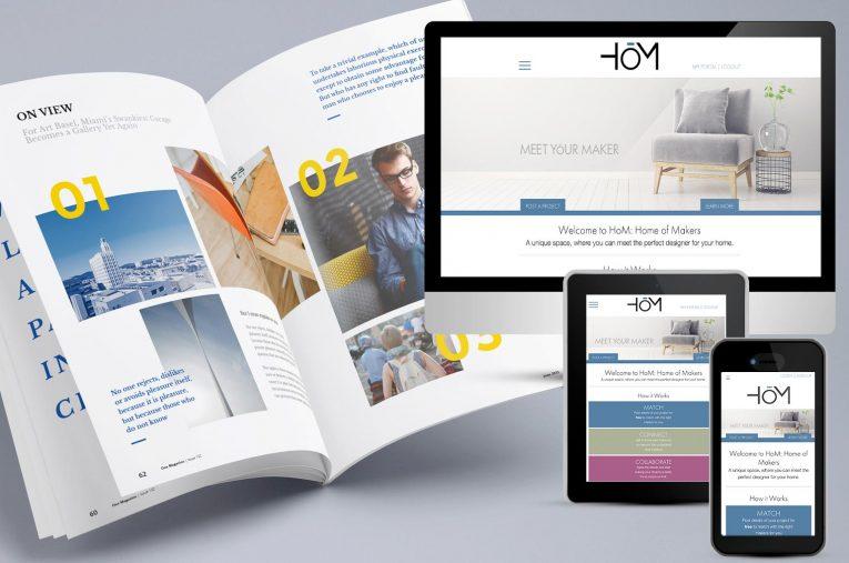 print versus web design