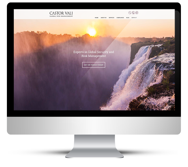 Castor Vali Corporate Web Design
