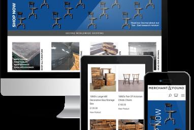 Merchant & Found WooCommerce Online Store