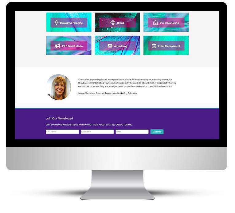 Web Design for Marketing Company