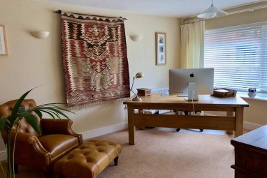 Freelance Web Designer Home office