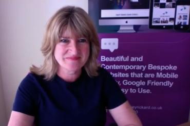 Tracey Rickard Web Designer Video Interview