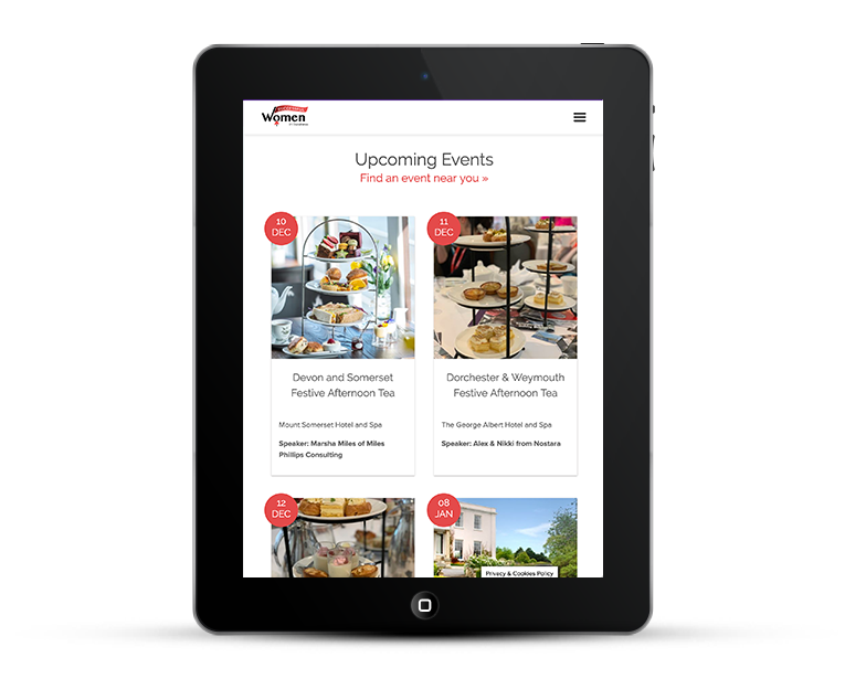 SWIB mobile responsive design for tablets and iPads