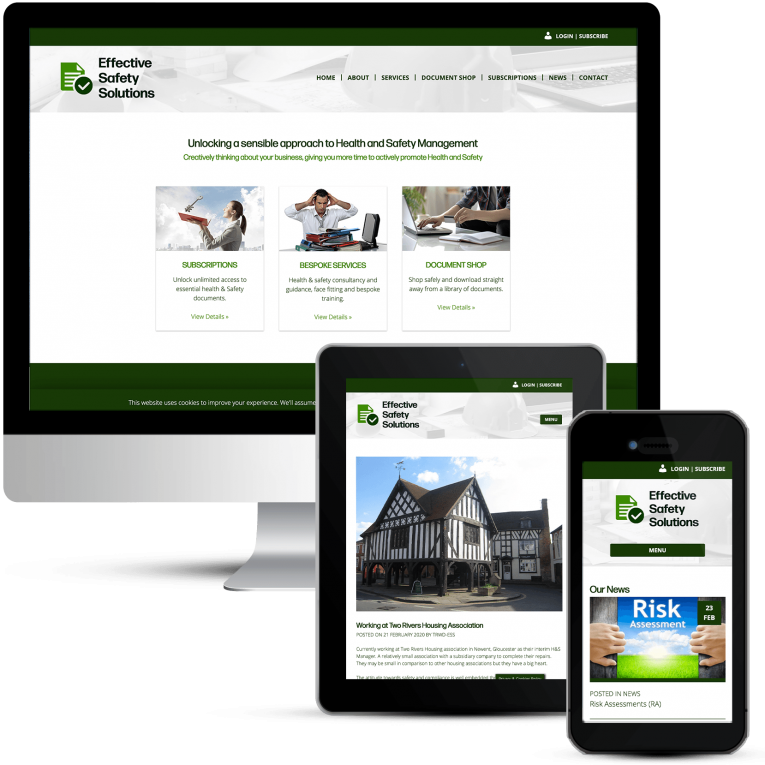 ESS Responsive Web Design