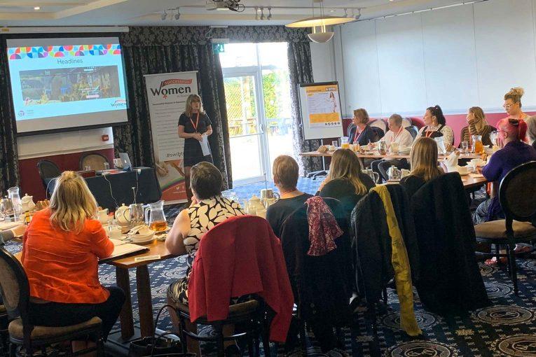 Freelance Web Designer presenting in Dorset