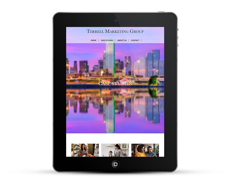 Terrell Marketing Group Bespoke Web Design