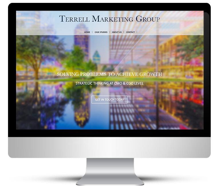 Terrell Marketing Group Bespoke WordPress Design