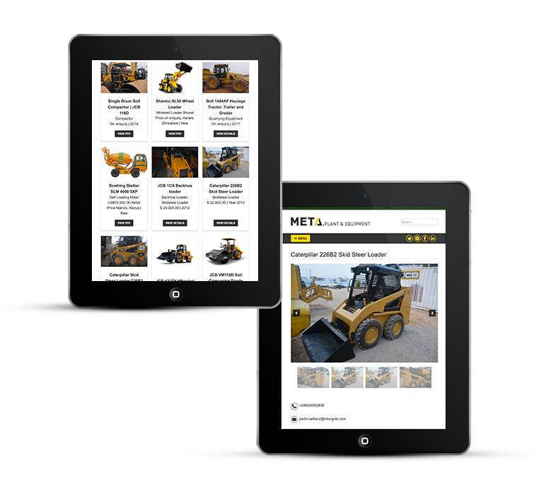 Meta Group iPad and tablet design