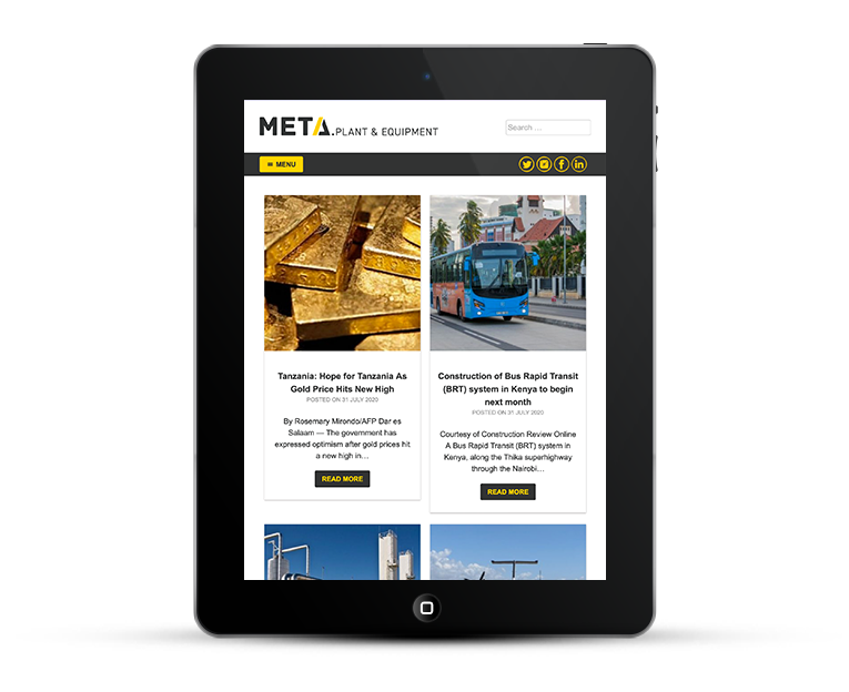 Responsive Design for heavy machinery deaalerships