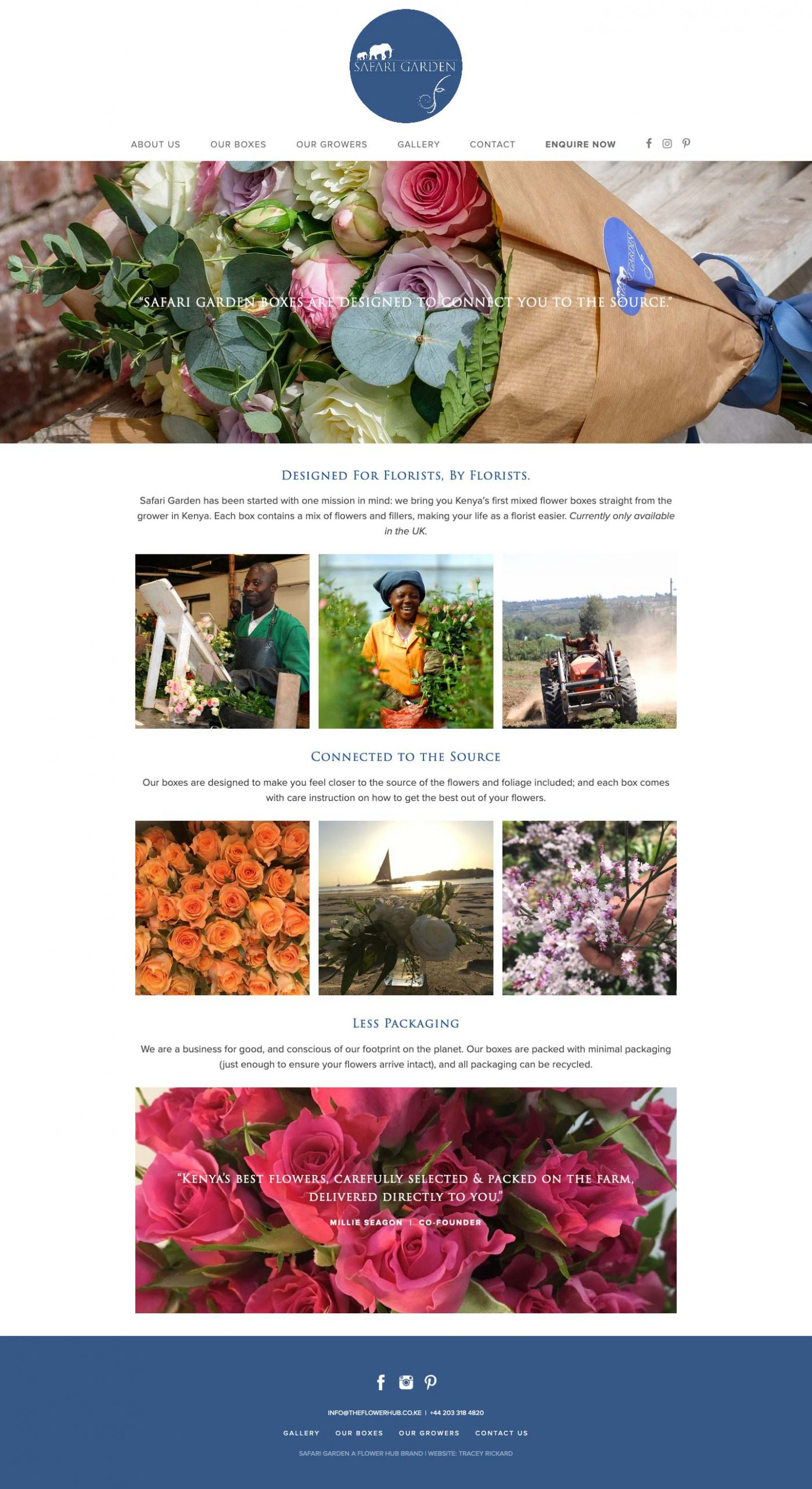 Safari Garden UK Flower Distributor