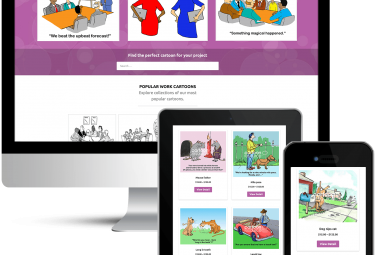 Cartoon Resource Custom WordPress Design